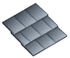 Metal Aluminum Shake Roof