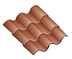 Concrete Clay Tile Roof