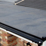 EPDM flat roof or Rubber roofing Mobile Alabama